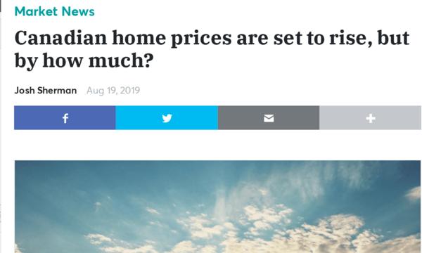 加拿大房价还会涨,问题是上涨空间还有多大?