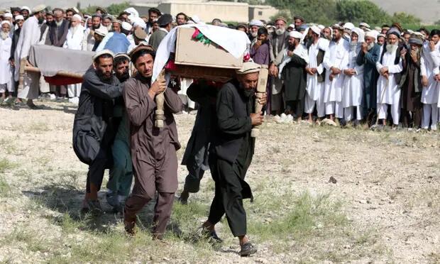 美军无人机误杀30名阿富汗农场工人