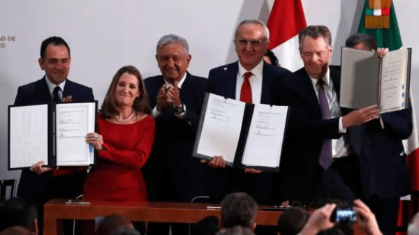 """加拿大签署美墨加协定附件,将迎来""""新北美贸易协议"""""""