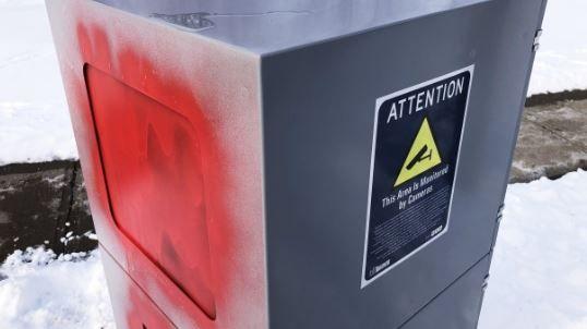 多伦多市长哭了…新安装的自动罚单机被恶意喷漆,无法使用