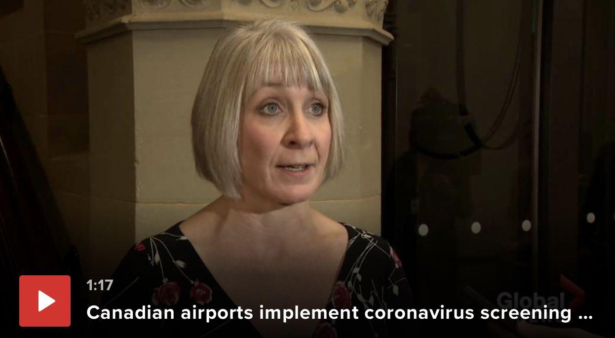 温哥华魁北克或出现疑似武汉肺炎,加航:涉及武汉行程机票可免费改签退票